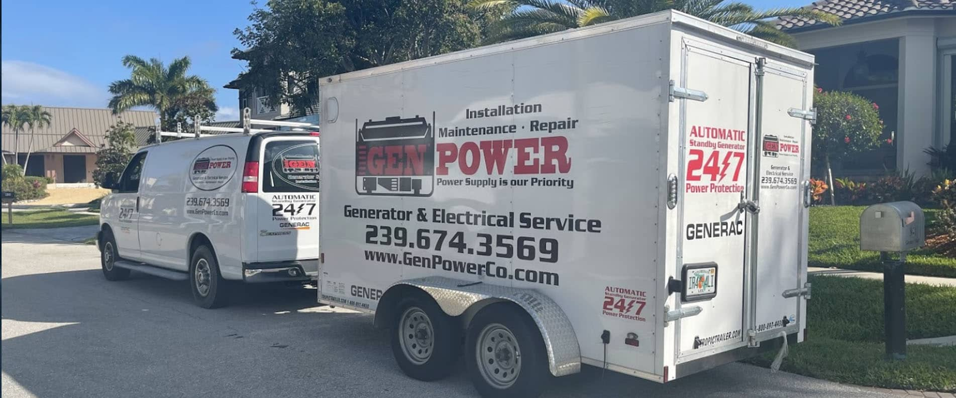 Fort Myers Generator Installation Services, Standby Generators and Generator Repair